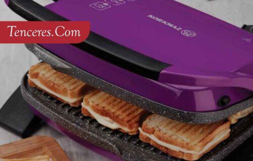 Korkmaz Tost Makinesi Fiyatları ve İlk Kullanımı Mutfak